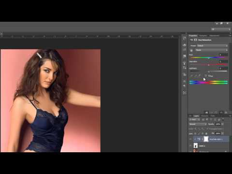 0 Photoshop Hindi tutorials, Episode 72, Colorizing clothes