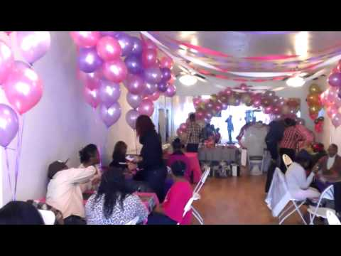 Baby shower hall in brooklyn eventz party halls youtube for Baby shower party hall decoration ideas