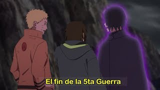 Naruto Uzumaki DETIENE la Quinta Gran Guerra Ninja