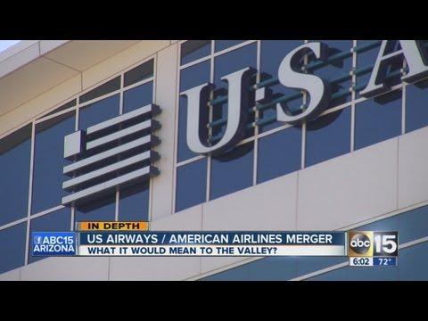 U.S. Airways, American Airlines merger