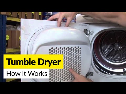 Whirlpool AWZ8578 condenser tumble dryer works quickly and