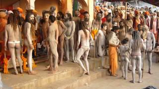 Naga Babas Shivaratri 2007 Varanasi