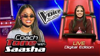 Coach Tone With Saasha - Coach Sashika | Digital Edition | Exclusive | The Voice Sri Lanka