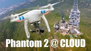 Phantom 2 with H3-3D flying in Cloud - HeliPal.com