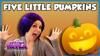 [Five Little Pumpkins - Halloween Song for Children] Video