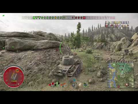 World of Tanks Xbox one VK 36.01 (H) 4 Kills