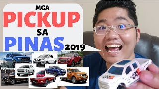 Pickup trucks in the Philippines 2019