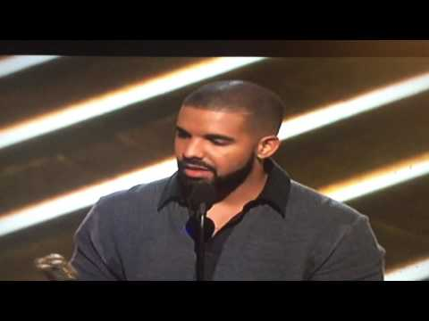 Drakes Lit Acceptance Speech for Bill Board 200 Album of The Year!!!! (2017)