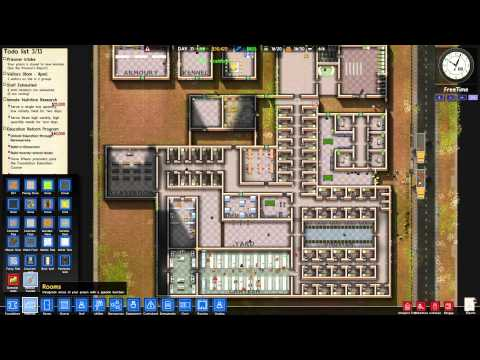 [翔麟]監獄建築師※Prison Architect※實況#11 教育開始