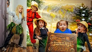 Jumanji at school in real life! Why can't you play it ?!