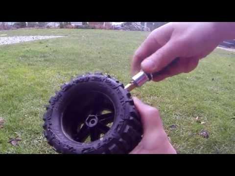 RC Model Car Maintenance After Mud And Water Bashing, údržba RC Modelu Po Jízdě V Mokru