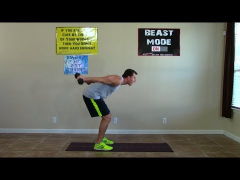 8 Minute Tabata Triceps Workout - HASfit Tricep Workouts - Triceps Training - Triceps Exercises Image 1