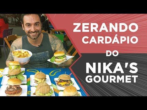 Zerando o cardápio do Nika's Gourmet! (3.3kg, ~10.000kcal) thumbnail