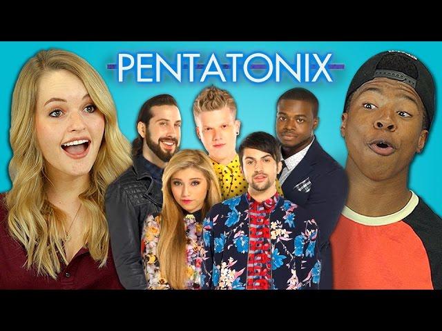 TEENS REACT TO PENTATONIX