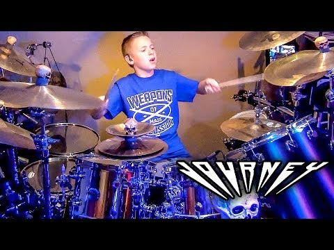 SEPARATE WAYS 9 year old Drummer Drum Cover by Ave.mp3