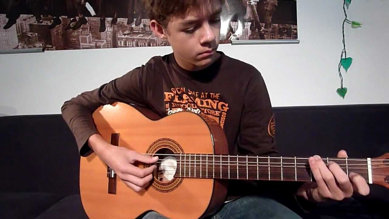 Stand By Me guitar cover (With Tabs) - YouTube
