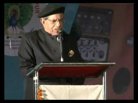 Chief Guest R. K. Rajendra Deo Ji's Speech First Annual Day 2012 - Mayoor School, Raipur