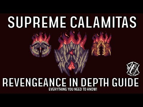 Supreme Calamitas in depth guide! (How to beat revengeance supreme calamitas)