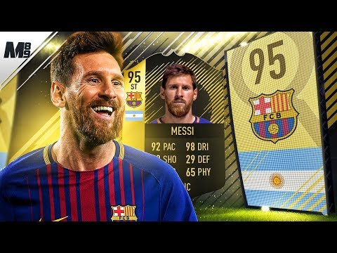 FIFA 18 SIF MESSI REVIEW | 95 SIF MESSI PLAYER REVIEW | FIFA 18 ULTIMATE TEAM