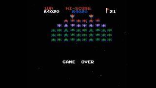 NES Longplay [611] Galaxian