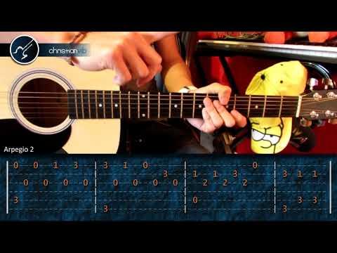 Como tocar - HIMNO A LA ALEGRIA - en Guitarra (HD) Tutorial Fingerpicking Arpegios