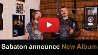 Sabaton announce new album for 2019