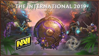 NAVI vs VIRTUS PRO, LIQUID vs LGD, NAVI vs NIP █ THE INTERNATIONAL 2019 DOTA 2