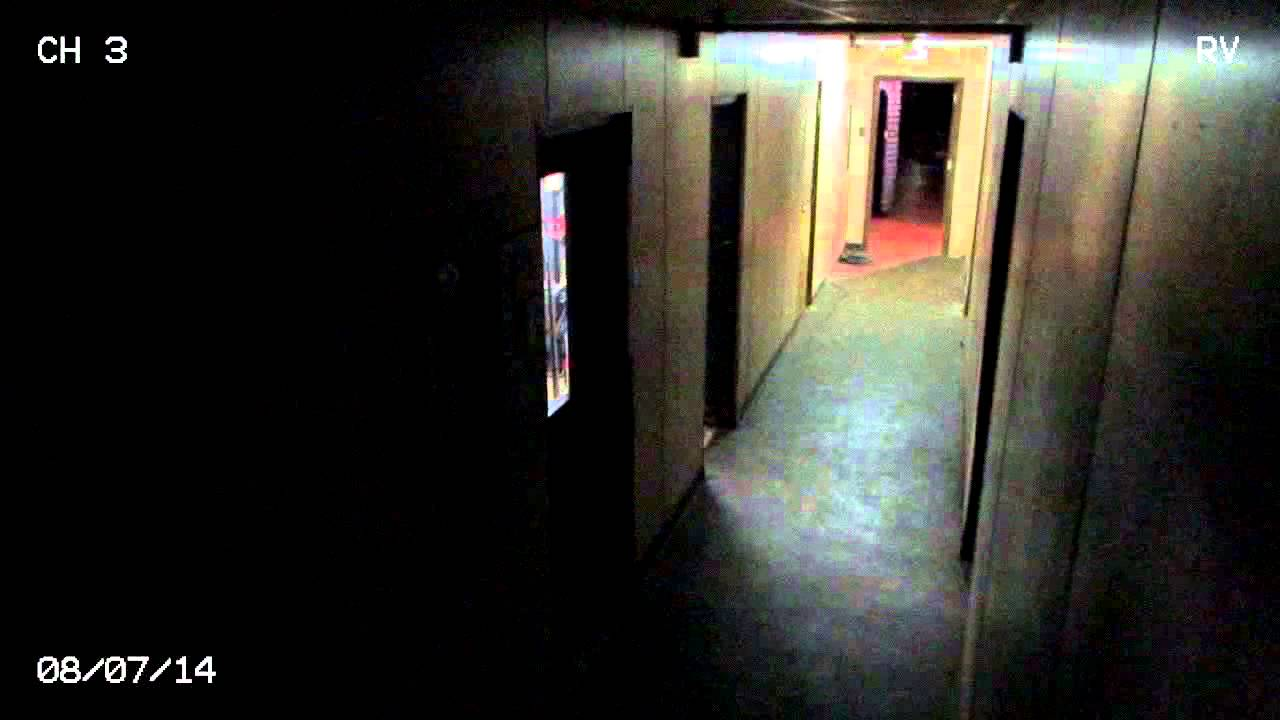 Night Terrors Hallway Security Footage Real Ghost Youtube