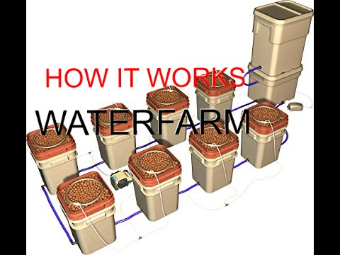 Turtorial On The General Hydroponics Waterfarm 8 Bucket System