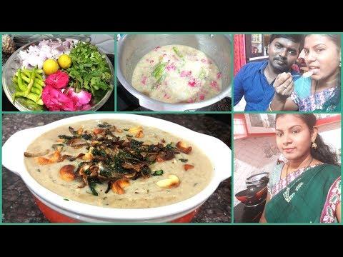 #DIML June 12th Special Vlog/Ramzan Special Mutton Haleem Recipe in Telugu/Amulya's Kitchen