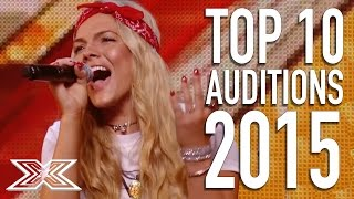 Best Auditions from 2015! | X Factor Global