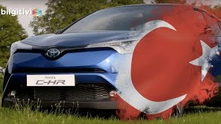 Toyota C-HR is producted in Toyota Motors Manufacturing Turkey /トヨタ C-HR