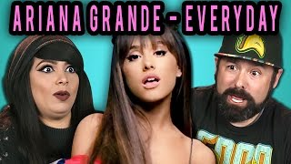 ADULTS REACT TO ARIANA GRANDE - EVERYDAY FT. FUTURE
