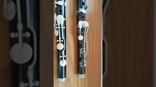 FIFB. Meyer vs. Clementi. 2 flautas del S. XIX
