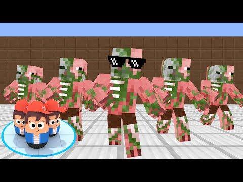 Monster School: POPULAR WARS CHALLENGE - Minecraft Animation