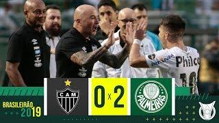 Atlético-MG 0 x 2 Palmeiras - Melhores momentos - Campeonato Brasileiro (12/05/2019)