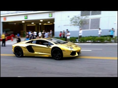 BEST of Supercar SOUNDS 2013 Loud acceleration  REVS  Lamborghini Ferrari Bugatti EXOTIC STEREO