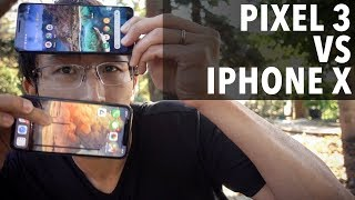 Google Pixel 3 vs iPhone X - Impressions, camera comparison & review. Time to switch?