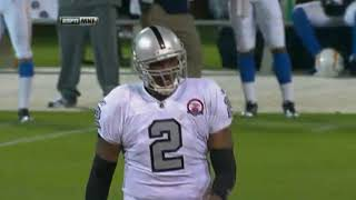 JaMarcus Russell Vs Chargers Week 1 2009