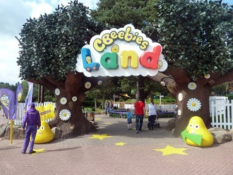 Cbeebies Land At Alton Towers Full Tour With All Rides video