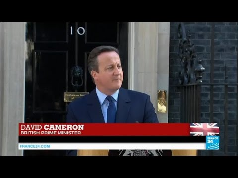 Brexit vote: Prime Minister David Cameron announces decision to resign