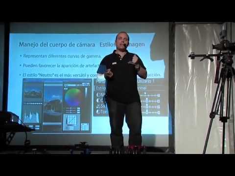 Grabación de video en cámaras Reflex. Conferencia Julio Gómez, Fotogenio 2010. Acrox Audiovisual.