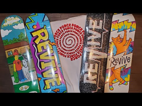 New From ReVive Skateboards!