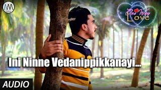 Ini Ninne Vedanippikkanayi FULL AUDIO SONG | ONE WAY LOVE | Ali Mangad | Rahees Pakyara