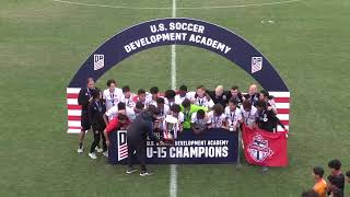 DA Playoffs: U-15 Championship Final - Toronto FC vs. LAFC