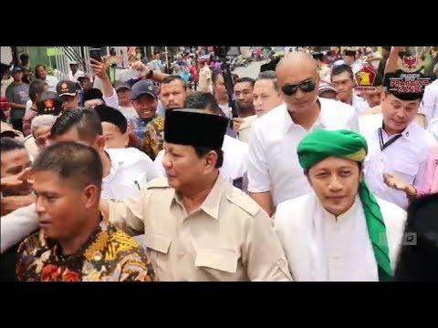 Prabowo Subianto Sowan ke Ponpes Al-Fatah Temboro.