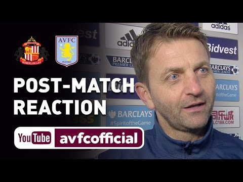 Sherwood, Benteke and Agbonlahor delighted with Sunderland win