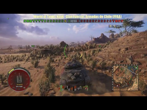 Tier X  World of Tanks XboX ONE - en Clan   (FFAA)