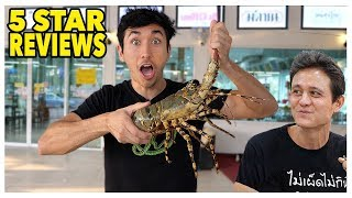 Eating At The BEST Reviewed LIVE Seafood Market In Bangkok Thailand with Mark Wiens (5 Stars)