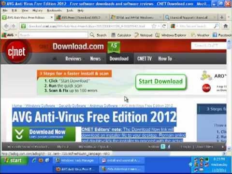 How to Uninstall AVG Anti-Virus Free Edition 2012